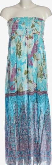 Jennyfer schulterfreies Kleid in L in blau / lila / weiß, Produktansicht