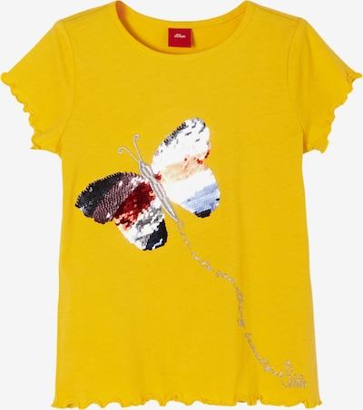 s.Oliver T-Shirt in gelb / mischfarben, Produktansicht