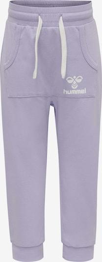 Hummel Hose in lila / weiß, Produktansicht
