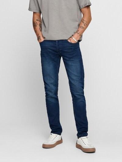 Jeans 'Loom' Only & Sons pe albastru închis, Vizualizare model