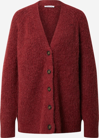 EDITED Cardigan 'Eliandro' in rot, Produktansicht