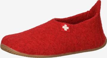 Pantoufle Living Kitzbühel en rouge