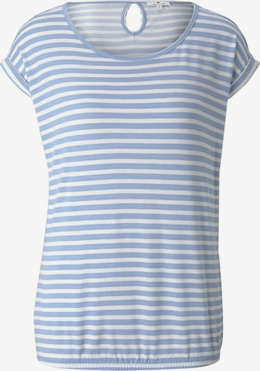 TOM TAILOR T-shirt en bleu clair, Vue avec produit