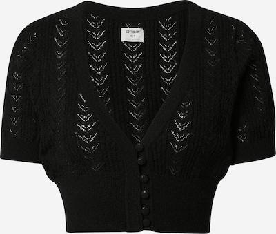 Cotton On Cardigan en noir, Vue avec produit