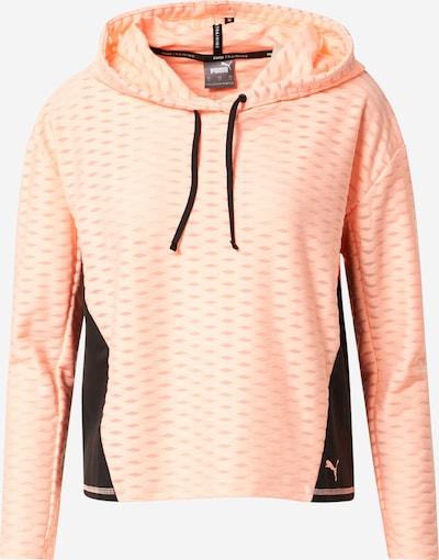 PUMA Sport sweatshirt 'Flawless' i rosa / svart, Produktvy