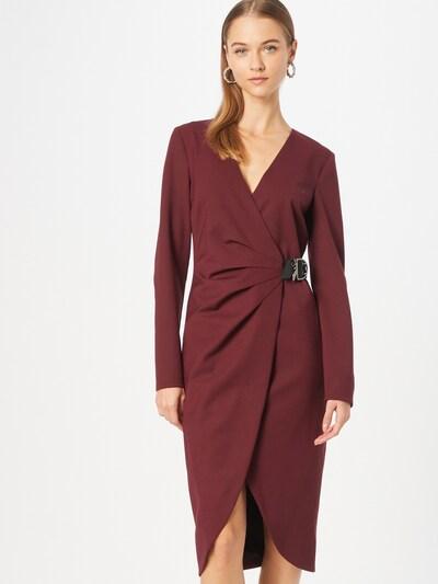 PATRIZIA PEPE Šaty 'ABITO' - vínově červená, Model/ka
