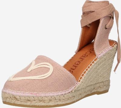 MACARENA Sandale 'CARLA1' in nude / weiß, Produktansicht