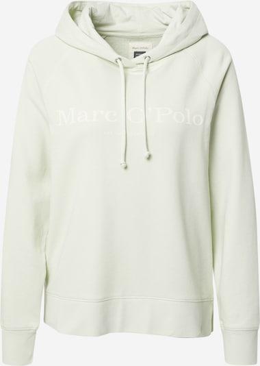 Marc O'Polo Sweatshirt in hellgrün / weiß, Produktansicht