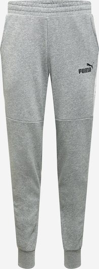 PUMA Pantalon 'AMPLIFIED' en gris chiné / noir / blanc, Vue avec produit