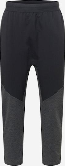 NIKE Спортен панталон в черно / черен меланж, Преглед на продукта