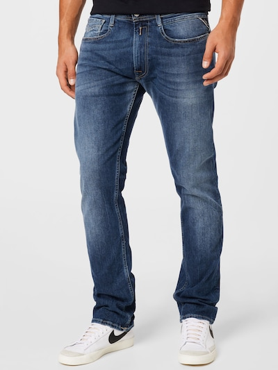 REPLAY Jeans 'ROCCO' in blau, Modelansicht