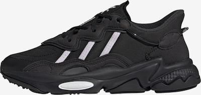 ADIDAS ORIGINALS Låg sneaker 'OZWEEGO' i svart / vit, Produktvy