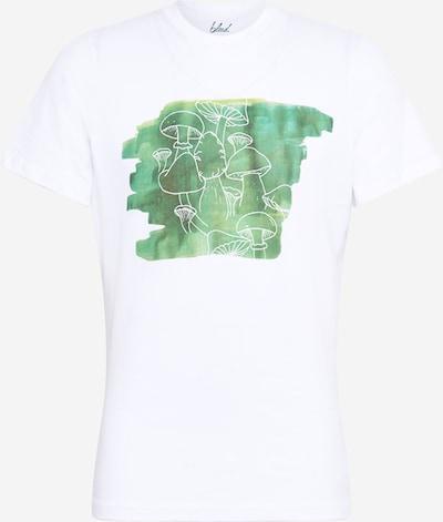 bleed clothing T-Shirt 'Schwamma' in jade / grasgrün / weiß, Produktansicht