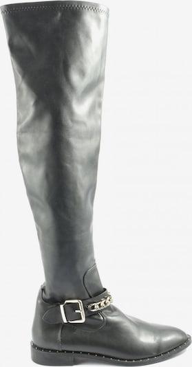 ZARA Schaftstiefel in 38 in schwarz, Produktansicht