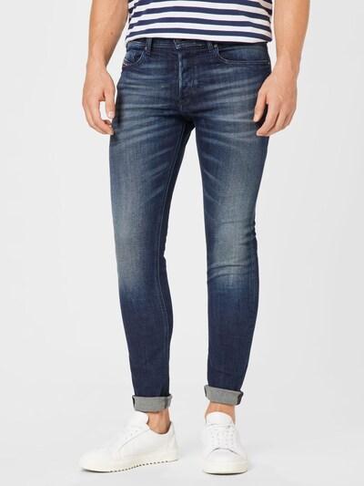 DIESEL Jeans 'SLEENKER' in dunkelblau, Modelansicht