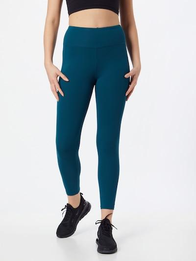 Sportinės kelnės iš ESPRIT SPORT , spalva - benzino spalva, Modelio vaizdas