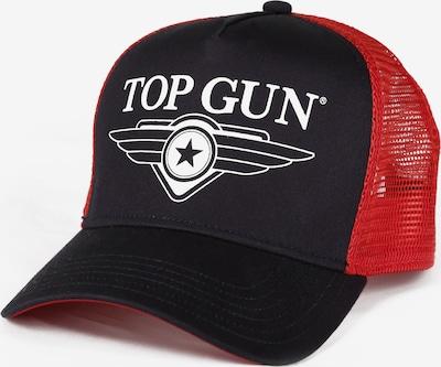 TOP GUN Pet in de kleur Rood / Zwart, Productweergave