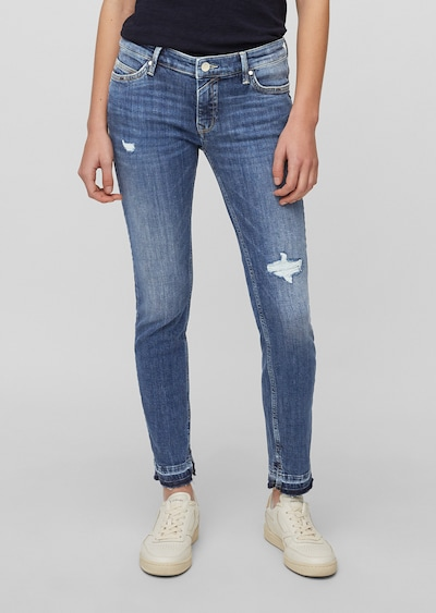 Marc O'Polo DENIM Jeans in blue denim, Modelansicht