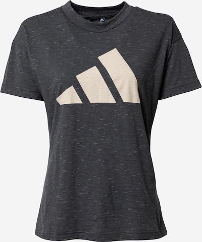 ADIDAS PERFORMANCE T-Shirt 'Winners 2.0' in schwarz / weiß, Produktansicht