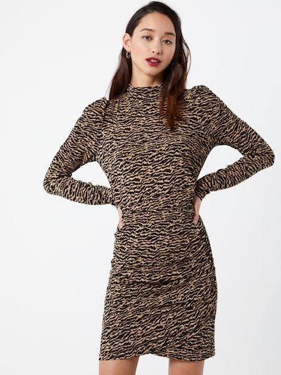 VERO MODA Kleid 'Jayda' in beige / schwarz, Modelansicht