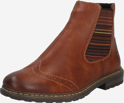 RIEKER Chelsea boots in Cognac / Mixed colours, Item view