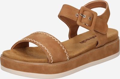 Sandale Refresh pe maro cămilă, Vizualizare produs