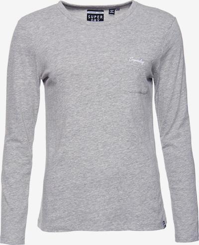 Superdry Shirt 'Essential' in hellgrau, Produktansicht