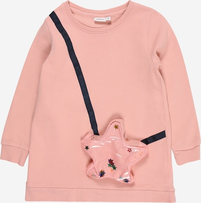NAME IT Kleid 'SOKKALA' in rosa / schwarz, Produktansicht