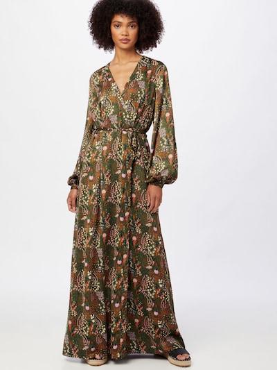 SCOTCH & SODA Kleid in dunkelgrün / mischfarben, Modelansicht