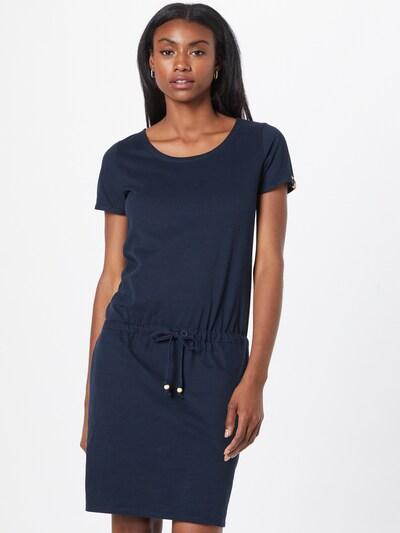 Rochie de vară Fli Papigu pe albastru închis, Vizualizare model