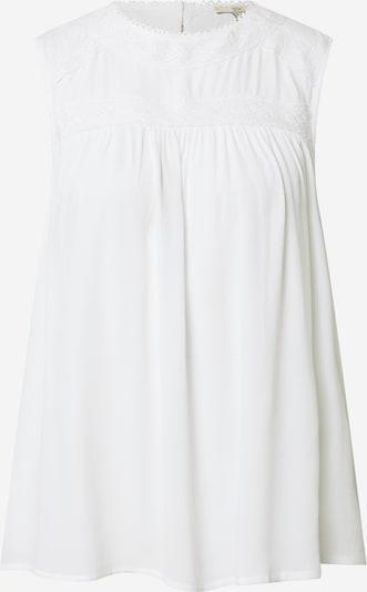 Bluză EDC BY ESPRIT pe alb, Vizualizare produs