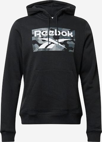 Hanorac sport de la Reebok Sport pe negru
