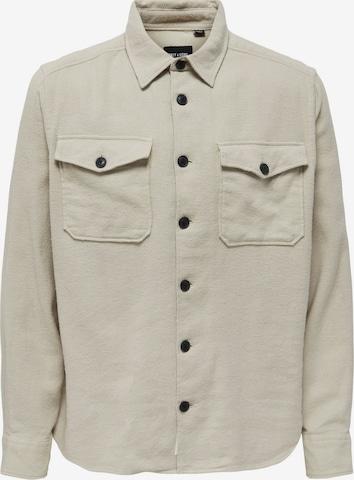 Camicia 'Milo' di Only & Sons in beige