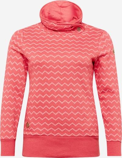 Ragwear Plus Sweat-shirt en melon / blanc, Vue avec produit
