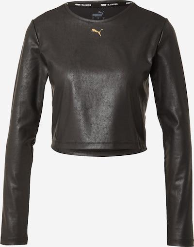 PUMA Sportshirt in hellorange / schwarz, Produktansicht