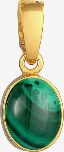 Nenalina Pendentif en or / vert, Vue avec produit