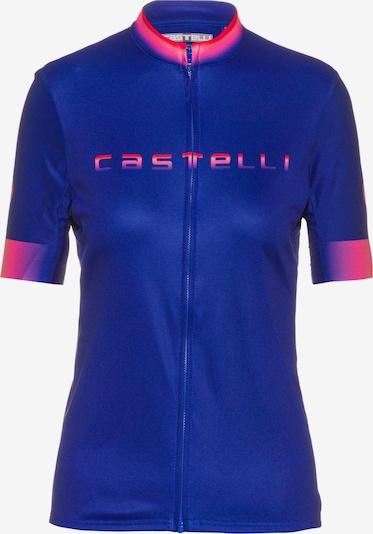 CASTELLI Trikot in navy / pink, Produktansicht