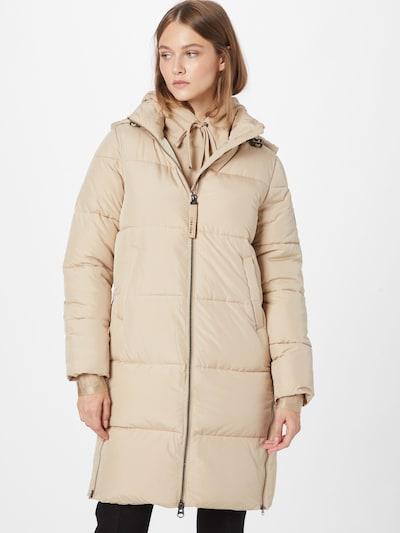Calvin Klein Mantel in wollweiß, Modelansicht