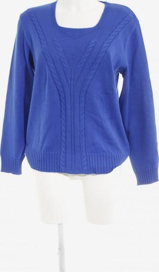 Menke Rundhalspullover in XL in blau, Produktansicht