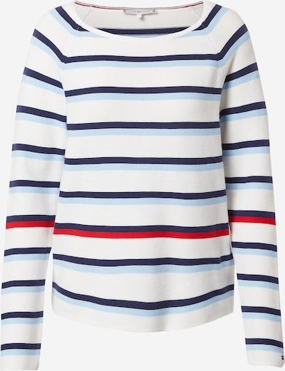 Megztinis iš TOMMY HILFIGER , spalva - šviesiai mėlyna / tamsiai mėlyna / raudona / balta, Prekių apžvalga