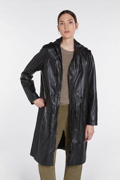 SET Between-Seasons Coat in Black, View model