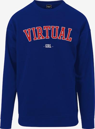 Merchcode Damen 'Ladies Virtual Girl Crewneck' in blau, Produktansicht