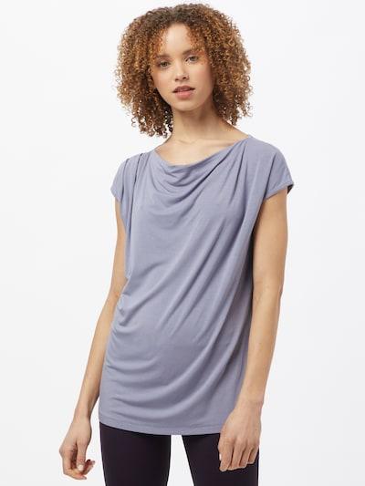 CURARE Yogawear Функционална тениска в люляк: Изглед отпред