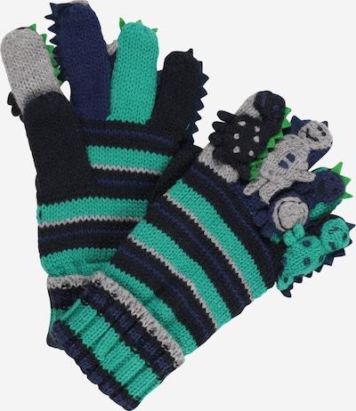 DÖLL Gloves in Night blue / mottled grey / Jade / Black, Item view