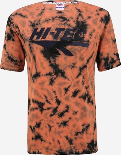 HI-TEC Functioneel shirt 'DION' in de kleur Lichtoranje / Zwart, Productweergave