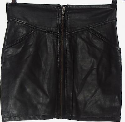 H&M Kunstlederrock in S in schwarz, Produktansicht
