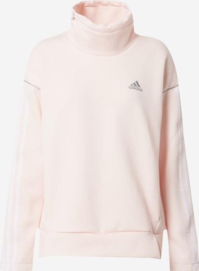 Sportinis megztinis iš ADIDAS PERFORMANCE , spalva - rožinė / balta, Prekių apžvalga