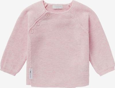 Geacă tricotată 'Pino' Noppies pe roz pastel / alb, Vizualizare produs