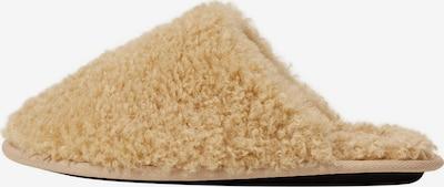 Papuci de casă 'Teddy' MANGO pe bej, Vizualizare produs