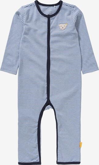 STEIFF Schlafanzug in blau / braun / weiß, Produktansicht